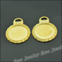 30 pcs Charms Frame Pendant  Gold color  Zinc Alloy Fit Bracelet Necklace DIY Metal Jewelry Findings JC579