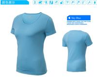 2014 fashion camisetas running mujer quick-drying sports short-sleeve running fitness for women sports tops sport tshirt women