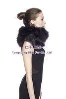 BG70905 Classic Style For Women Genuine Silver Fox Fur Scarf Winter LadiesCollar   Warm Scarf Hot Sale Warm in Winter Accessory