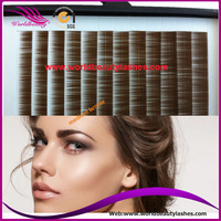 wholesale price for individual eyebrow extensions 5mm 6mm 7mm black, dark brown or medium brown