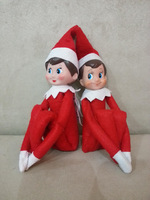 New Arrival 35cm The Elf On the Shelf Plush Toy Action Figure Collection Vintage Toys Classic Christmas Doll Cheap Price CW0321