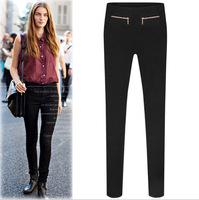 New 2014 women winter pants skinny stretch leggings pants casual European fashion good quality perfect neutral feet pencil pants