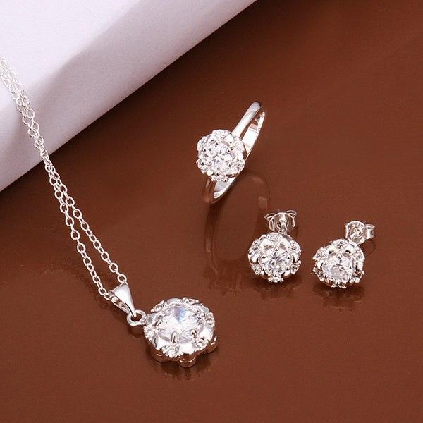 Ювелирный набор OEM S560 925 , /awfajnma gmjapdqa jewelry sets браслет цепь magic jewelry 925 oem