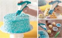Pastry Icing Piping Bag Cake Nozzle Tips Fondant Cake Sugar Craft Decorating Pen New SV16 SV010823