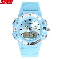 SKMEI Fashion Women Dress Watches Water Resistant And Analog-Digital Digital Sports Wristwatch SDU3029