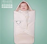 Free shipping 100% Organic Cotton Multifunctional Baby Sleeping Bag Baby Anti Tipi Your Baby Cart Sleeping Bag Sleeppacks 100cm