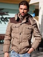 Winter Warm Man's Down Jacket Fashion Down Coat Winter White Duck Down,148