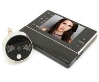 Free shipping 3.5 inch LCD Display 3X Digital Zoom 0.3 Mega Pixels Night Vision Digital Door Peephole Viewer camera