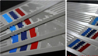 High quality!stainless steel outer door sill scuff plate threshold plate  for BMW X5 2008-2012 E70