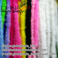 Wholesale and Retail from Factory www.ywgy.cn Cheap 10g Mix colors 20yards/lot Marabou feathers boa