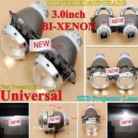 NEW Car Headlight 3.0 Inch Bi-xenon HID Projector Lens Q5 HID Bi-xenon Projector Lens Light Headlight BULB With High Brightness