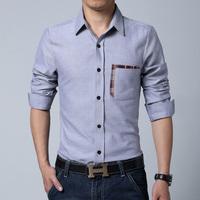 Men Plaid Shirts 2014 New arrival Autumn Fashion Casual Korean Style Slim Fit Mixed Colors Men long Sleeve Shirts