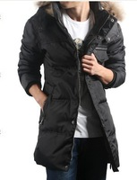 Free transport, 2014 winter men's down jacket, winter coat high quality business down jacket 286