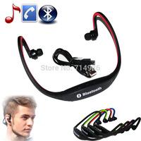 Sport Stereo Wireless Bluetooth Headset Handsfree Earphone Radio Headphone for Galaxy iPhone HTC LG Smartphone