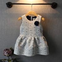 2T-8Y baby girls dress princess frozen dress 2014 Autumn outfit children girl kids infant evening party tank dresses girl kids