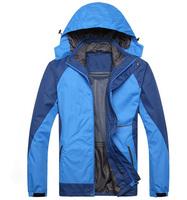 New 2014 brand waterproof windproof softshell jacket men winter casual jacket ski hunting hiking camping climbing fleece jacket