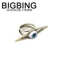 BigBing jewelry fashion  Retro eyes exaggerated ring Good quality nickel free Free shipping! J1003