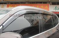 New ! For BMW X5 2011 2012 ABS chrome window visor defle 4PCS