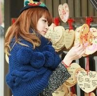2014 Winter Warm knitted scarf  women's fashion woolen wrap lady's ring