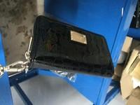 30pcs Hot  Genuine Leather original Michaeled Zipper bag Cross pattern wallet case for  5/5G/5S 4/4S wih retail box-p2