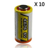 New 10 x 4A76 4LR44 L1325 A544 6V 6 volt Alkaline Battery