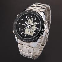 Watches Men Luxury Brand Military army  fashion casual Wristwatches Dual time Digital Analog Quartz Watch Relogio Masculino 019