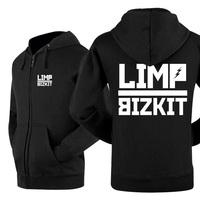 2014 new winner autumn hot sell classics zipper LEISURE WEAR lover`s hoodie limp bizkit