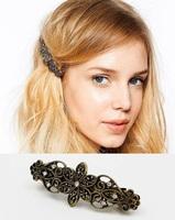 Wholesale Hair Jewelry Fashion Vintage Rhinestone Barrettes Decorations for Hair Bridal Wedding Girls Women 8766