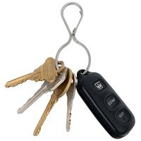 Nite Ize Stainless steel Infini-Key Carabiner Clip Keychain Key Ring
