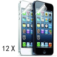 12-Pack High Quality Matte Anti-Glare Screen Protector for iPhone 5/5S/5C