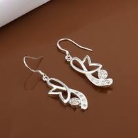 Hot Sale!!Free Shipping 925 Silver Earring,Fashion Sterling Silver Jewelry New Style Earrings SMTE481