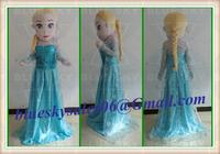 Frozen princess Elsa mascot costume elsa mascot costume