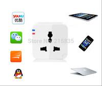 Hot 2014 Newest Intelligent Smart Device,Smart Wifi Plug Socket,Remote Control Plug Socket,EU/UK/US/AU Socket Plug, Andoid App