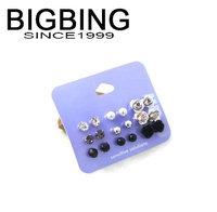 BigBing Fashion Rose crystal beads t Earrings 9 pair Earrings fashion earring fashion jewelry nickel free Free shipping! j1007