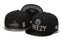Cayler & Sons gold WEEZY leather Snapback hats mens women adjustable fashion baseball caps Free Shipping
