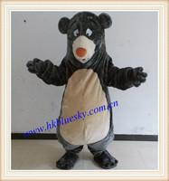 Custom baloo bear mascot costume baloo bear costume for sale