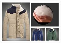 Parka Men 2014 Winter Thicken Down Cotton Parkas Coat Outwear Plus Size M-xxxxxl 5XL brand New Man Top Good Quality Parkas