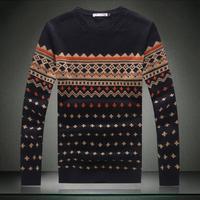 Sweaters Men Casual Slim O Neck Big Yard Plus Size Sweater Size M-XXXXXL 5XL Pullover Sweaters