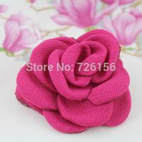40pcs/lot Mini Layered Poppy Flower hairband accessories Flat Back