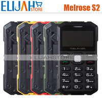 Original Melrose S2 Mini Ultra-thin Pocket Card phones 1.7 inch 0.3M Camera Bluetooth MP3 Russian black/yellow/red/green Color