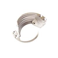 3 PCS/Lot Professhional EAS System Key Detacher Hook Tag Remover Stainless Steel Magnetic Handheld Security Hook Drop Ship