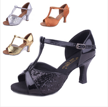new arrival in store wholesale brand ballroom tango latin dance shoes women salsa heel high shoes for womens(China (Mainland))