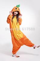 Carrot Cartoon Animal Onesies Slepwear Adult Unisex Fashion Cosplay Costumes Women Pyjamas Pajamas