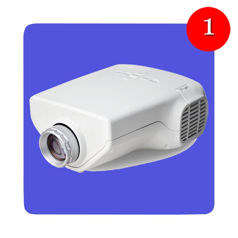 New Mini 1080P HD Multimedia LED Projector Home Cinema Video Support AV TV VGA HDMI Tonsee
