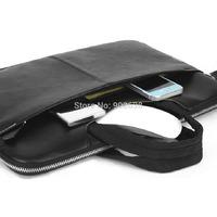 Cartinuo Computer Bag for Apple pro Laptop bag Real Man Series 17.5/20 inch Black