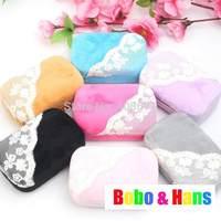 New fashion lace flower style contact lenses box & case / Wholesale