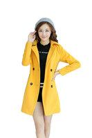 Fasot Women's Winter Peacoat Long Woolen Top Wool Coats Outerwear Trench    Free Shipping