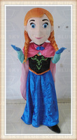 Frozen Party Use princess Anna mascot costume