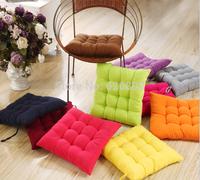 40*40cm chair pad cushion pearl cotton colorful chair cusion cushions home decor cover pillow cover plaid