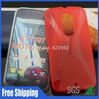 X line XT1097 phone cases,For Moto X+1 XT1097 tpu case free shipping